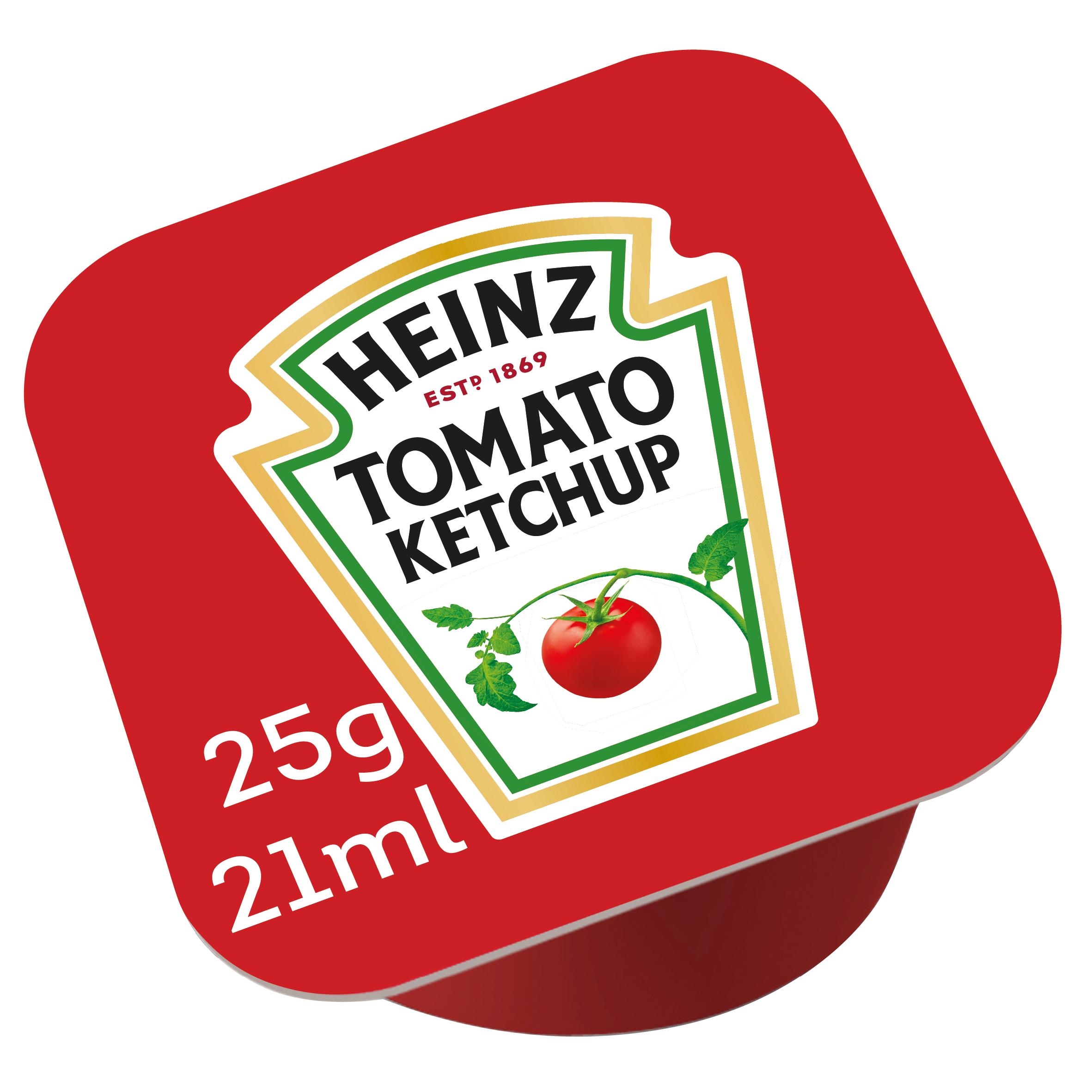 Heinz Tomato Ketchup 25ml dippot image