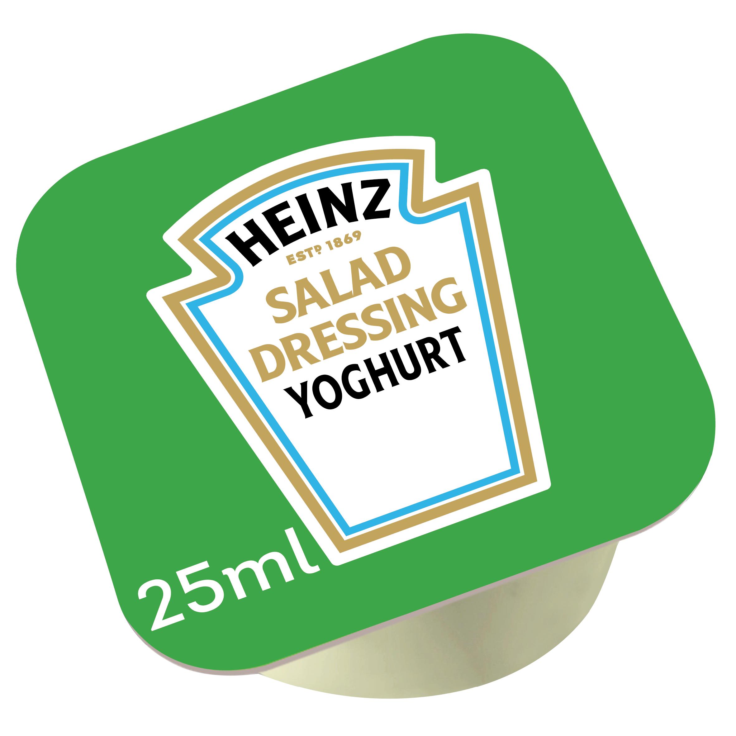 Heinz Yoghurt dressing 25ml dippot image