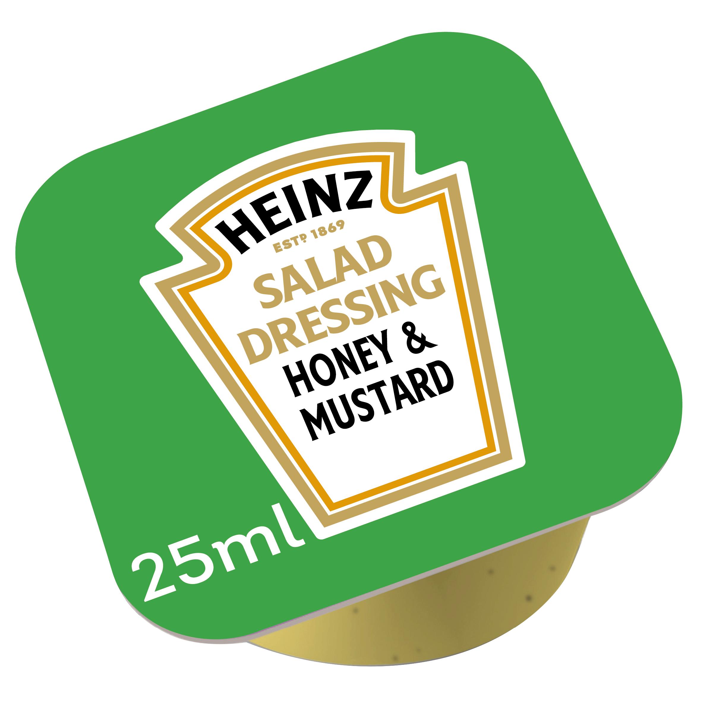 Heinz Honing Mosterd dressing 25ml dippot image