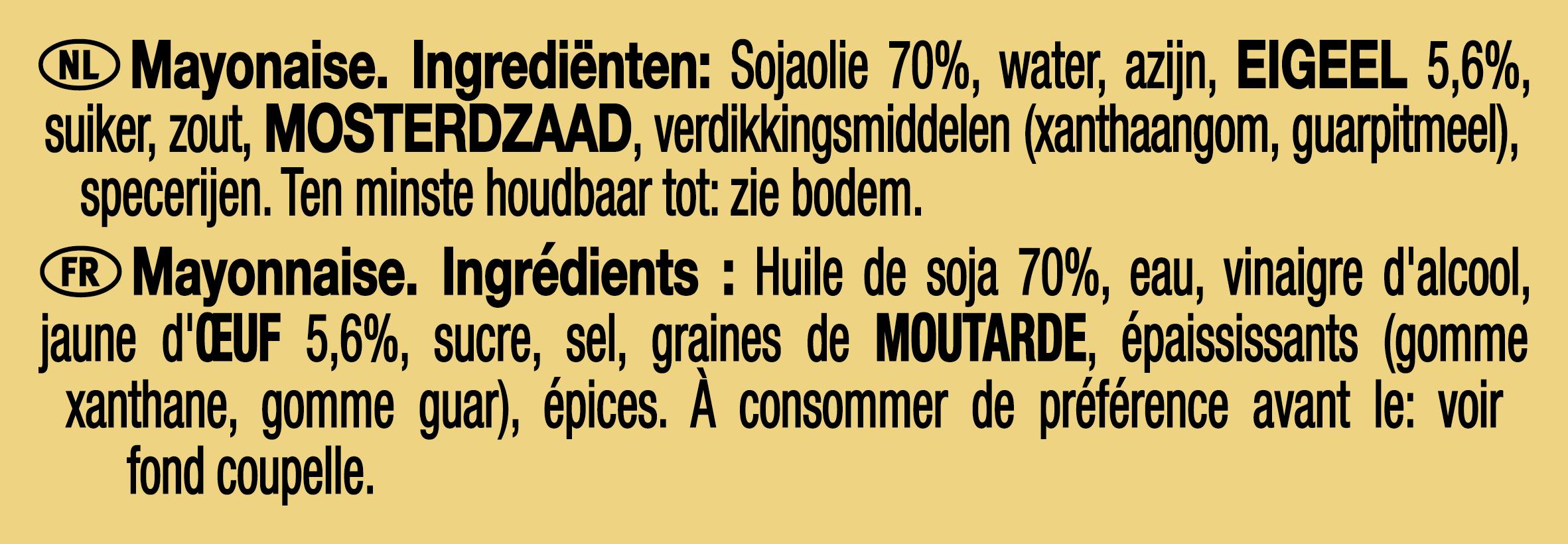 Heinz Mayonaise dippot 25ml