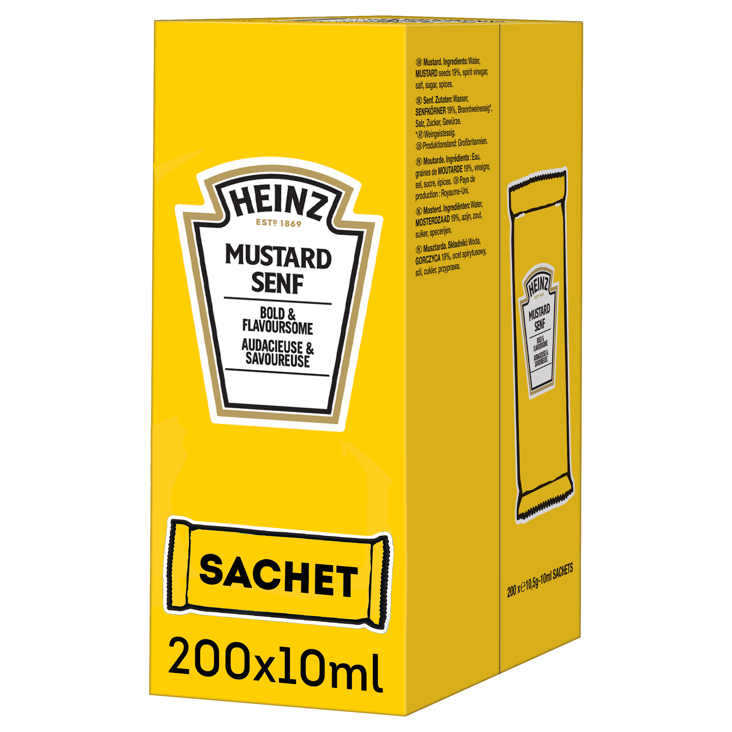 Heinz Mosterd 10ml sachet