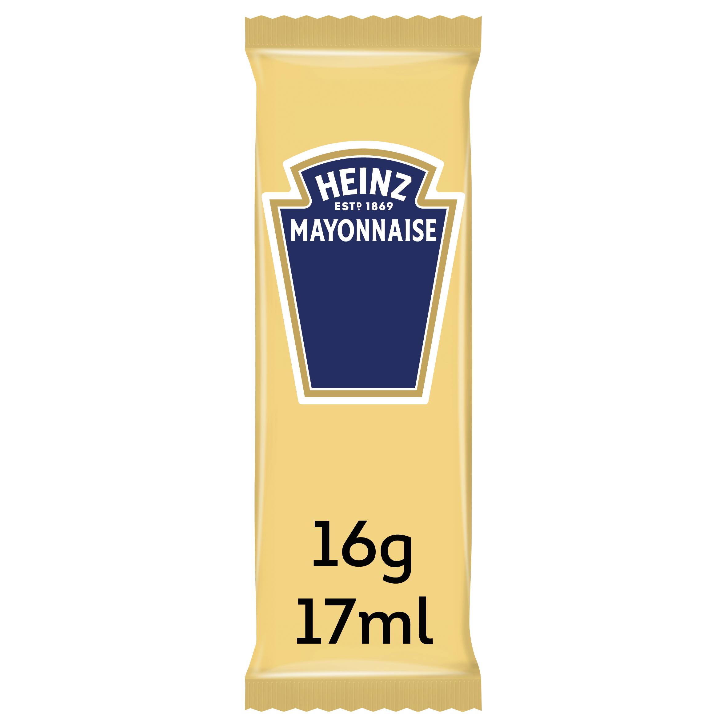 Heinz Mayonaise sachet 17ml image