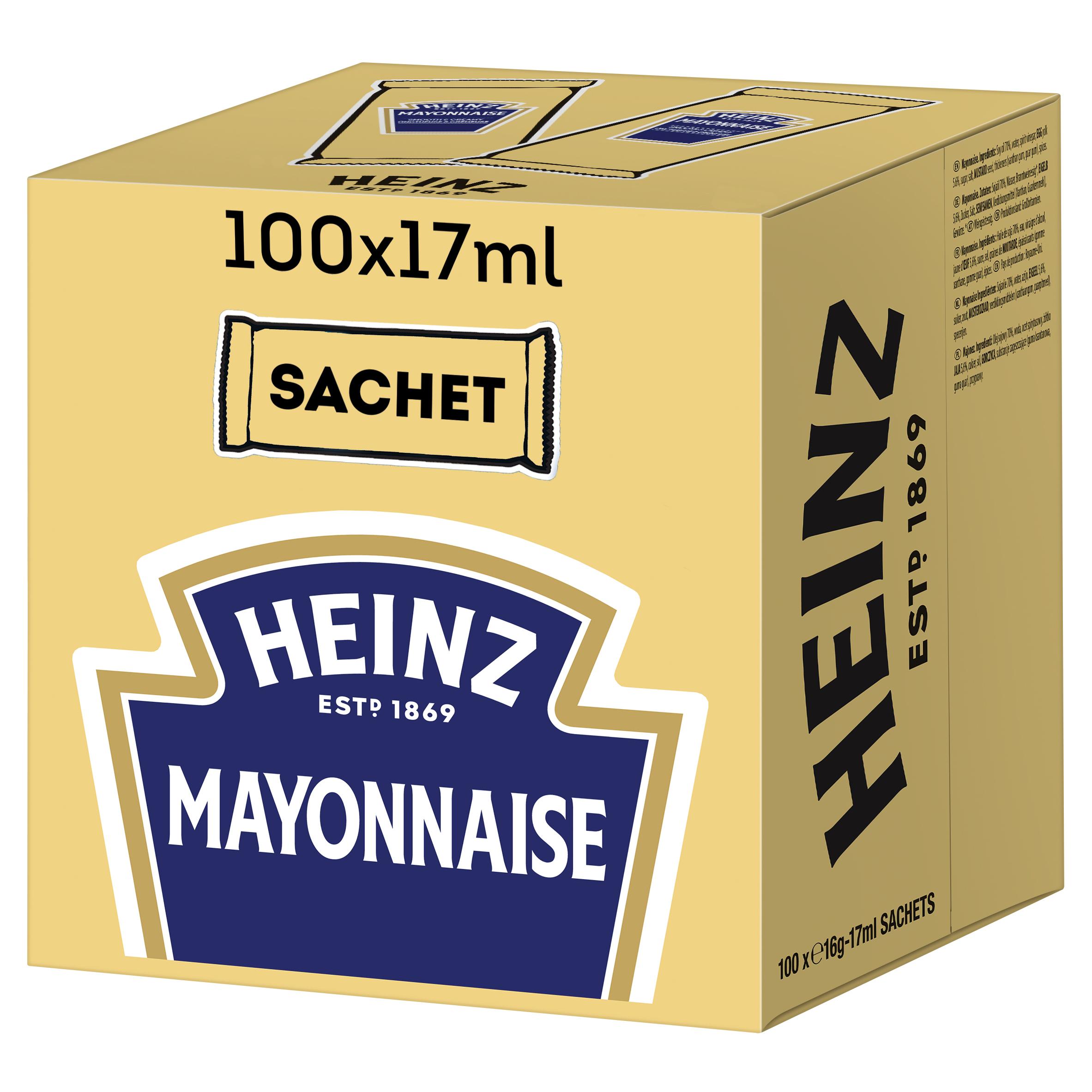 Heinz Mayonaise sachet 17ml