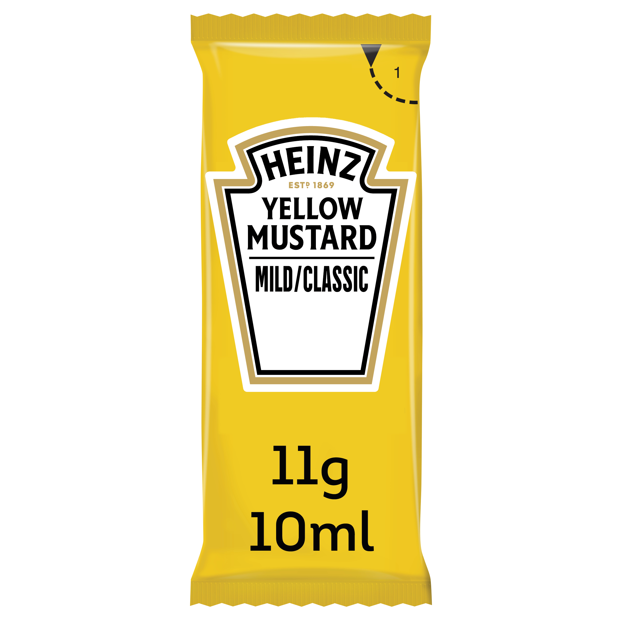 Heinz Yellow mustard 10ml