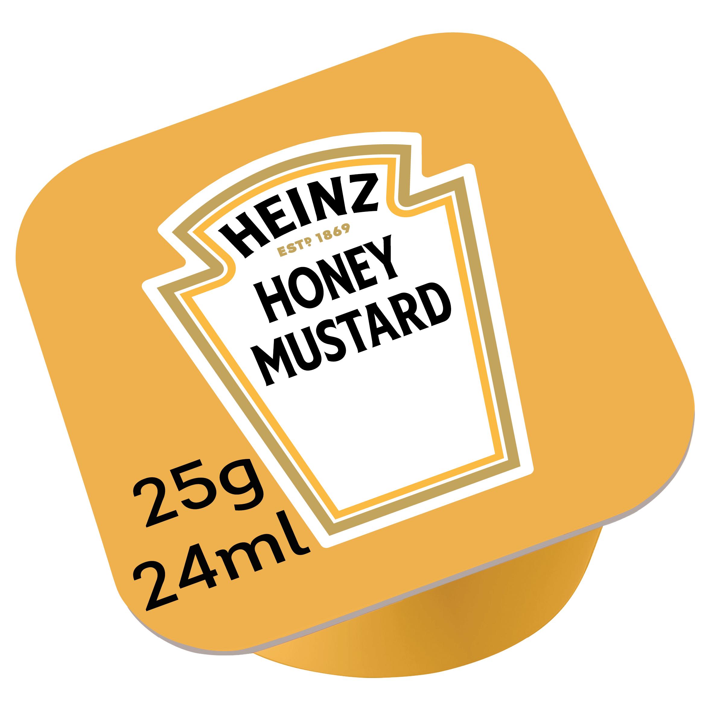 Kremowa musztarda miodowa Heinz 25g dip pot image