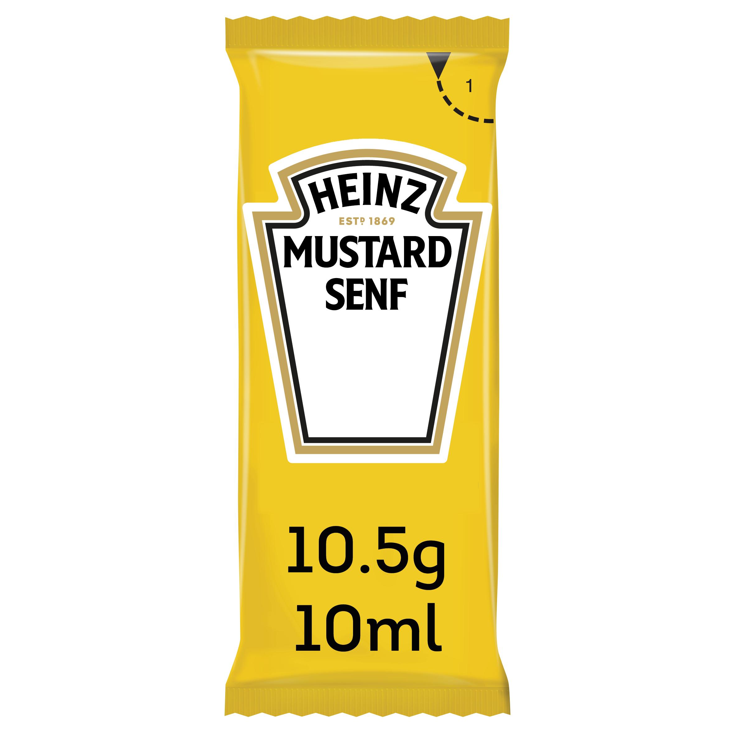 Heinz Sachets Senf 10ml image