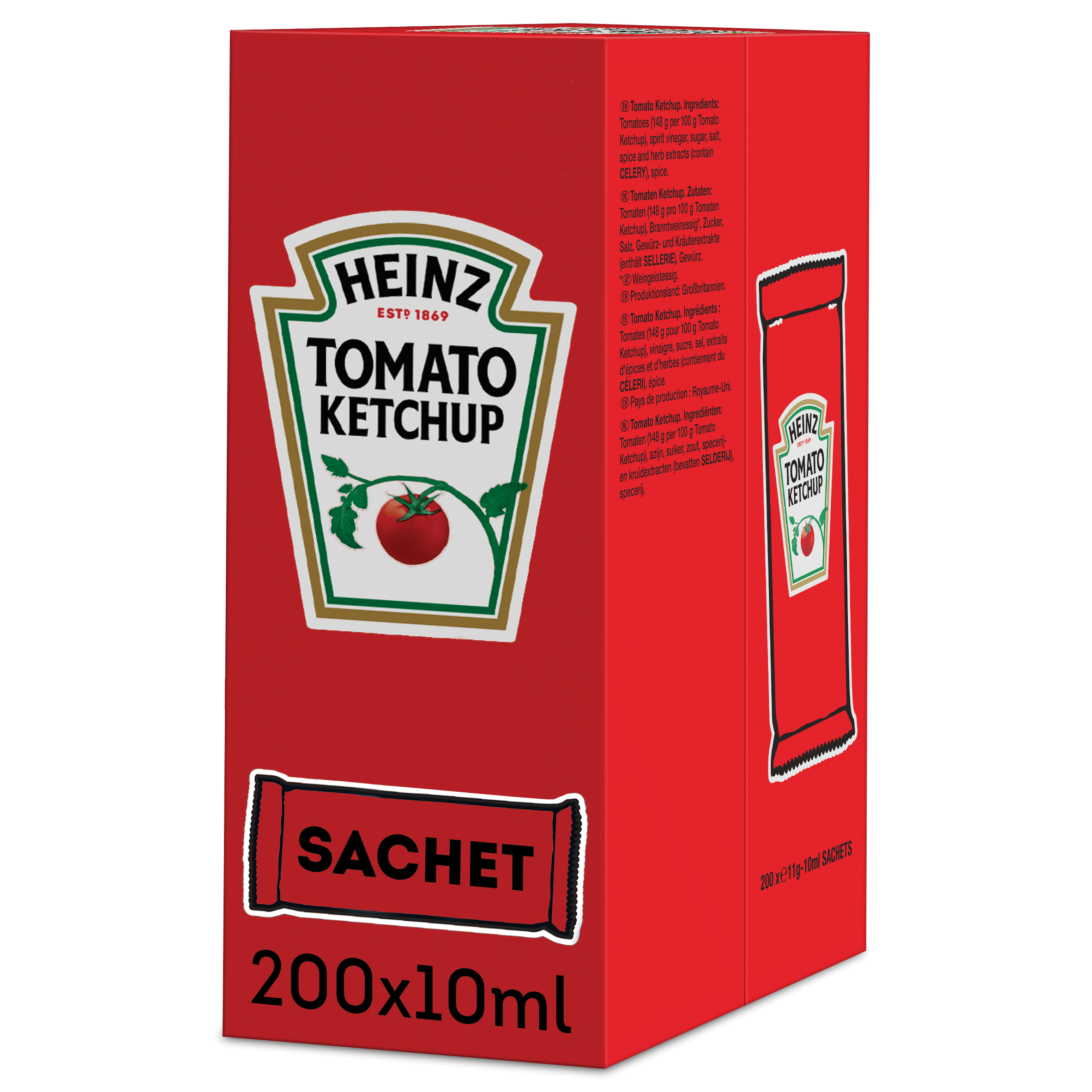 Ketchup Heinz 10ml saszetka