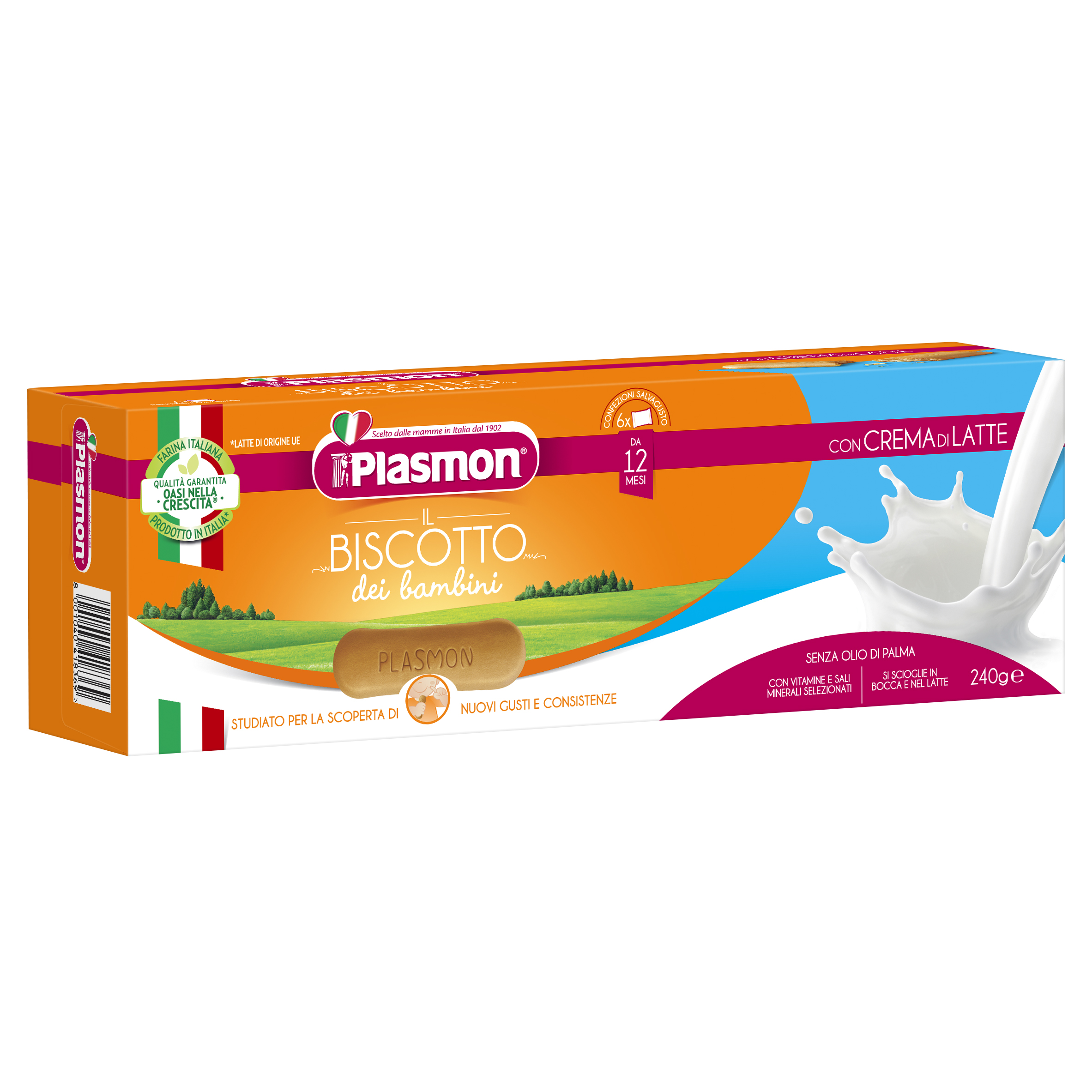 Plasmon Biscuit with Milk Cream
