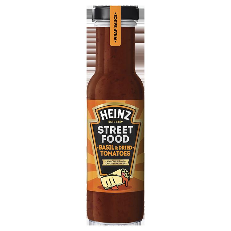 Street Food Sauce Basilicum & Gedroogde tomaten