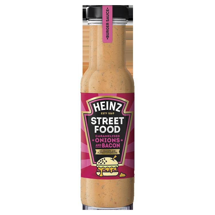 Street Food Sauce Gekarameliseerde uien en bacon saus