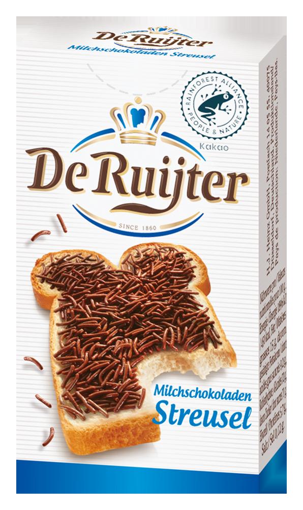 De Ruijter Milchschokoladenstreusel 20g image