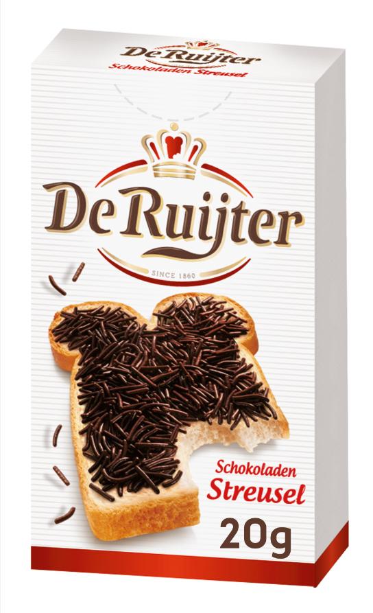 De Ruijter Schokoladenstreusel 20g image