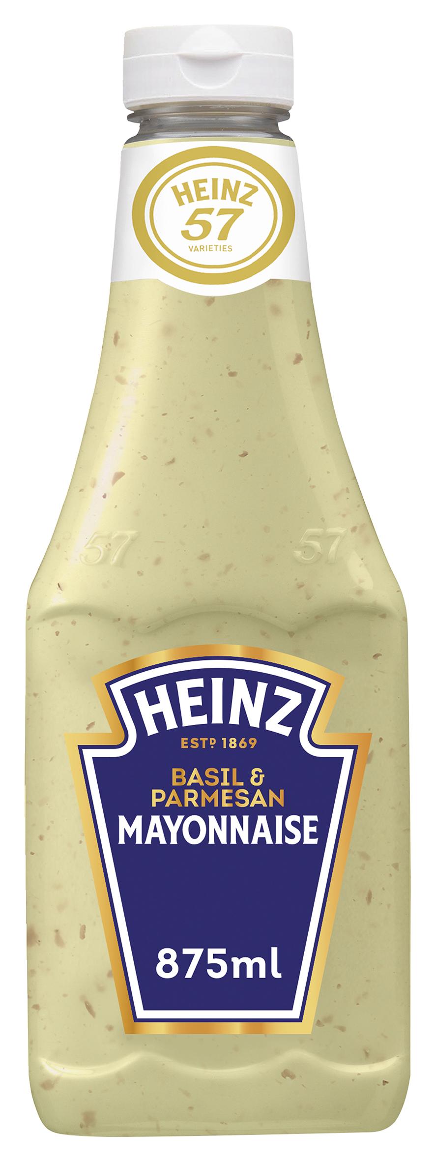 Heinz Basilikum & Parmesan Mayonnaise 875ml image