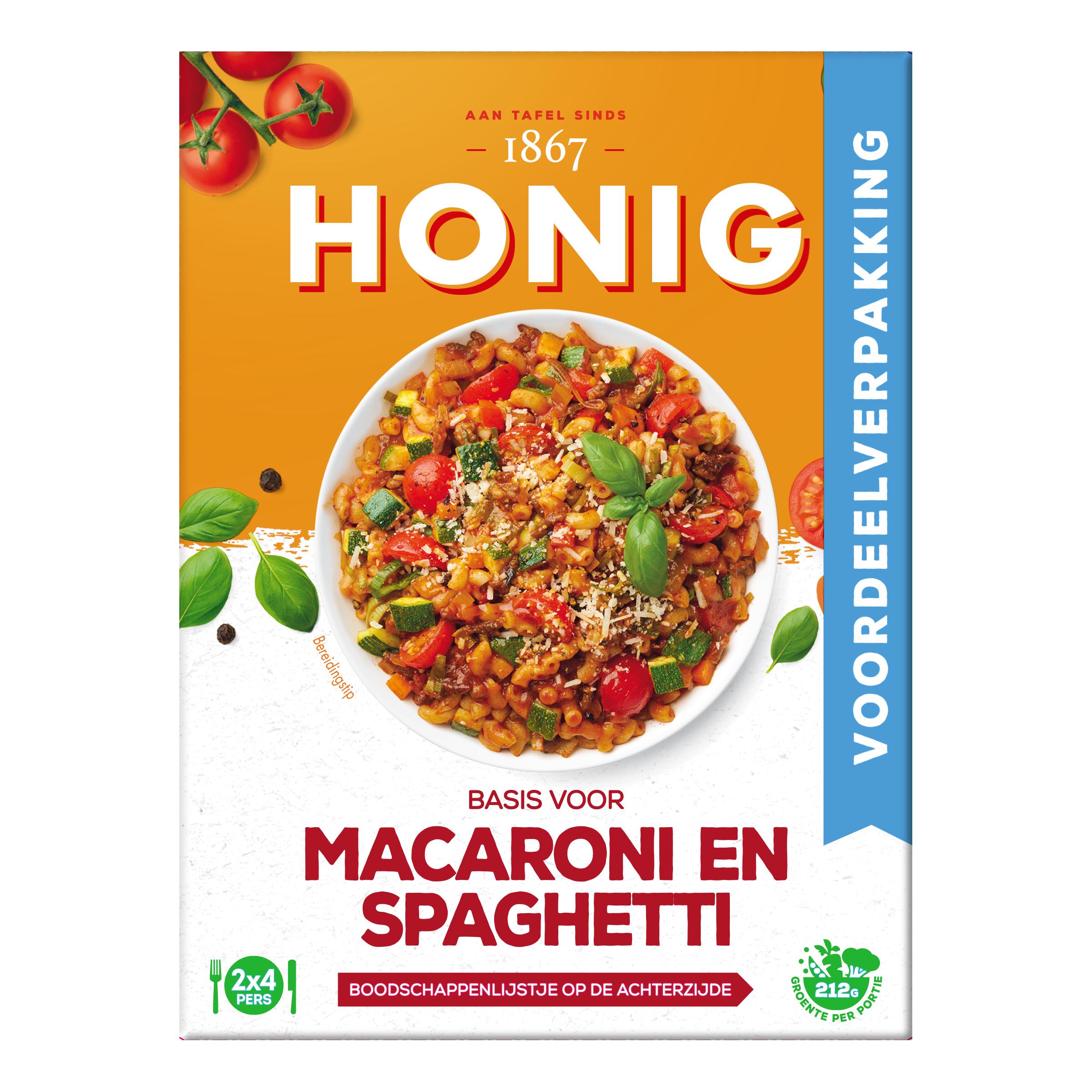 Macaroni en Spaghetti Voordeelverpakking