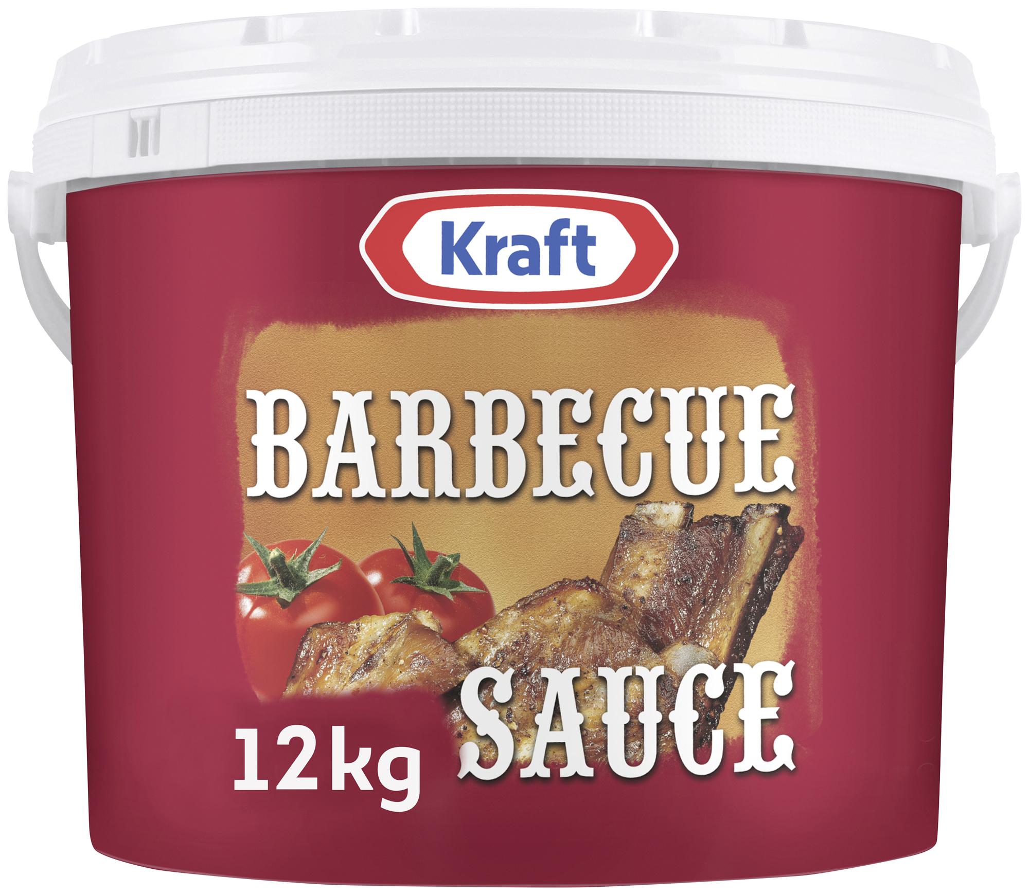 Kraft Barbecue Sauce, Rauchig-Würzig 12kg