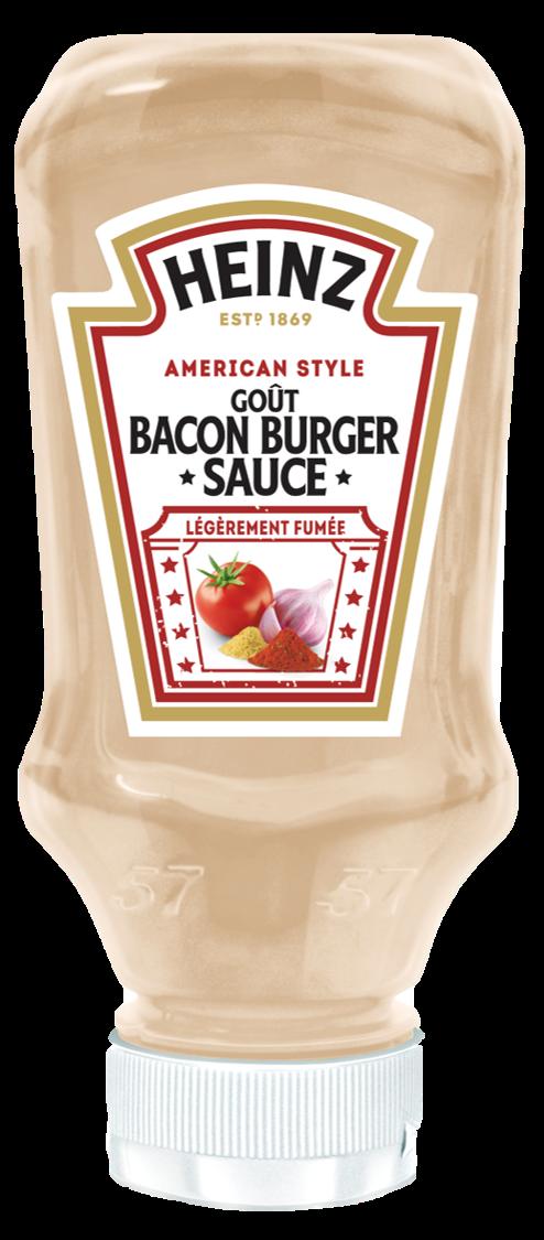 HEINZ BACON BURGER SAUCE (Goût Bacon)