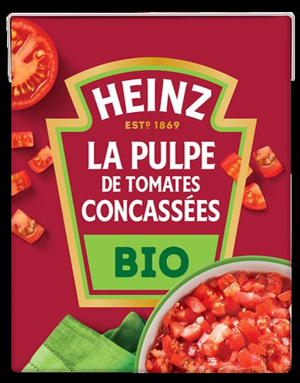 La Pulpe de Tomates Concassées BIO