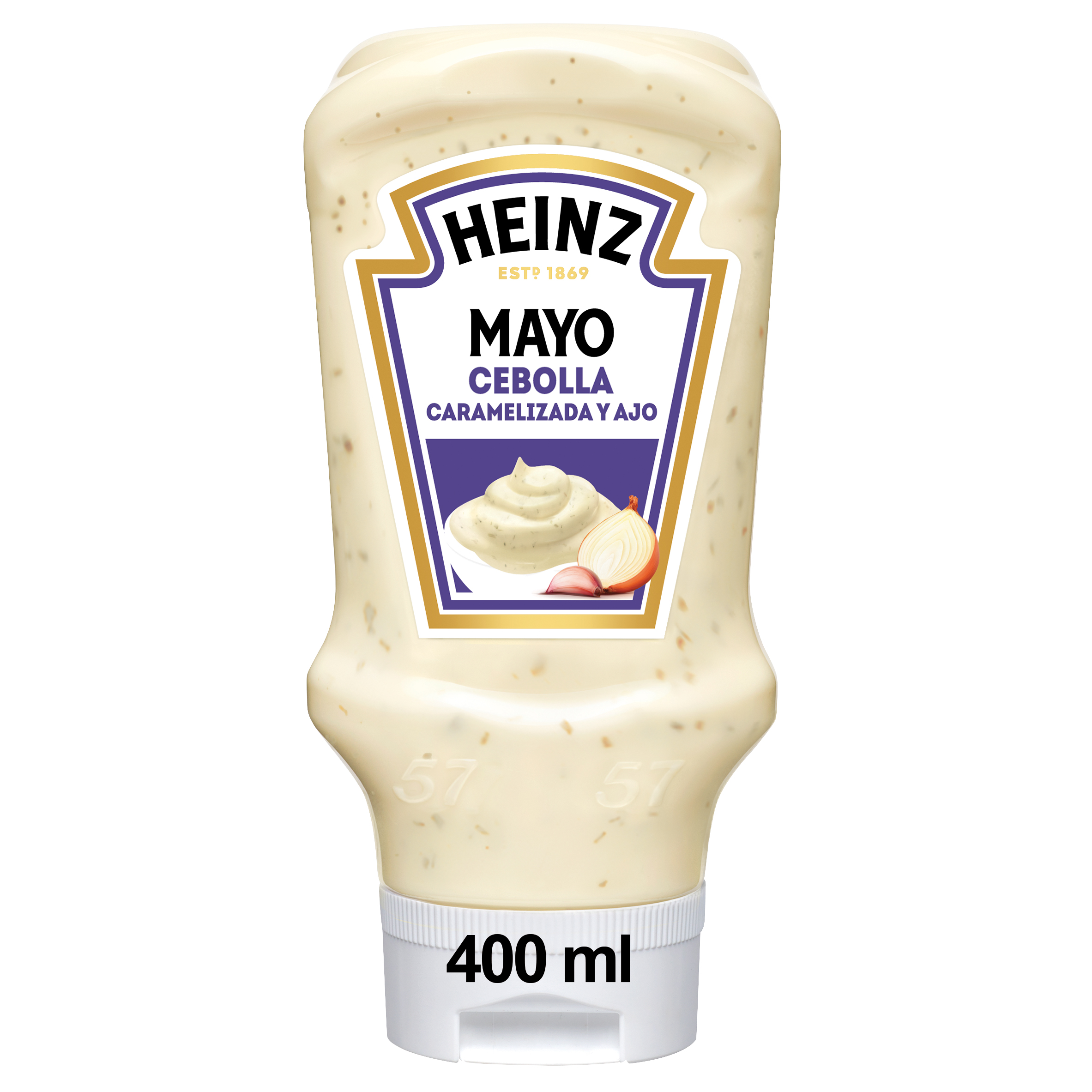 Heinz Mayonesa Cebolla Caramelizada y Ajo 400ml image