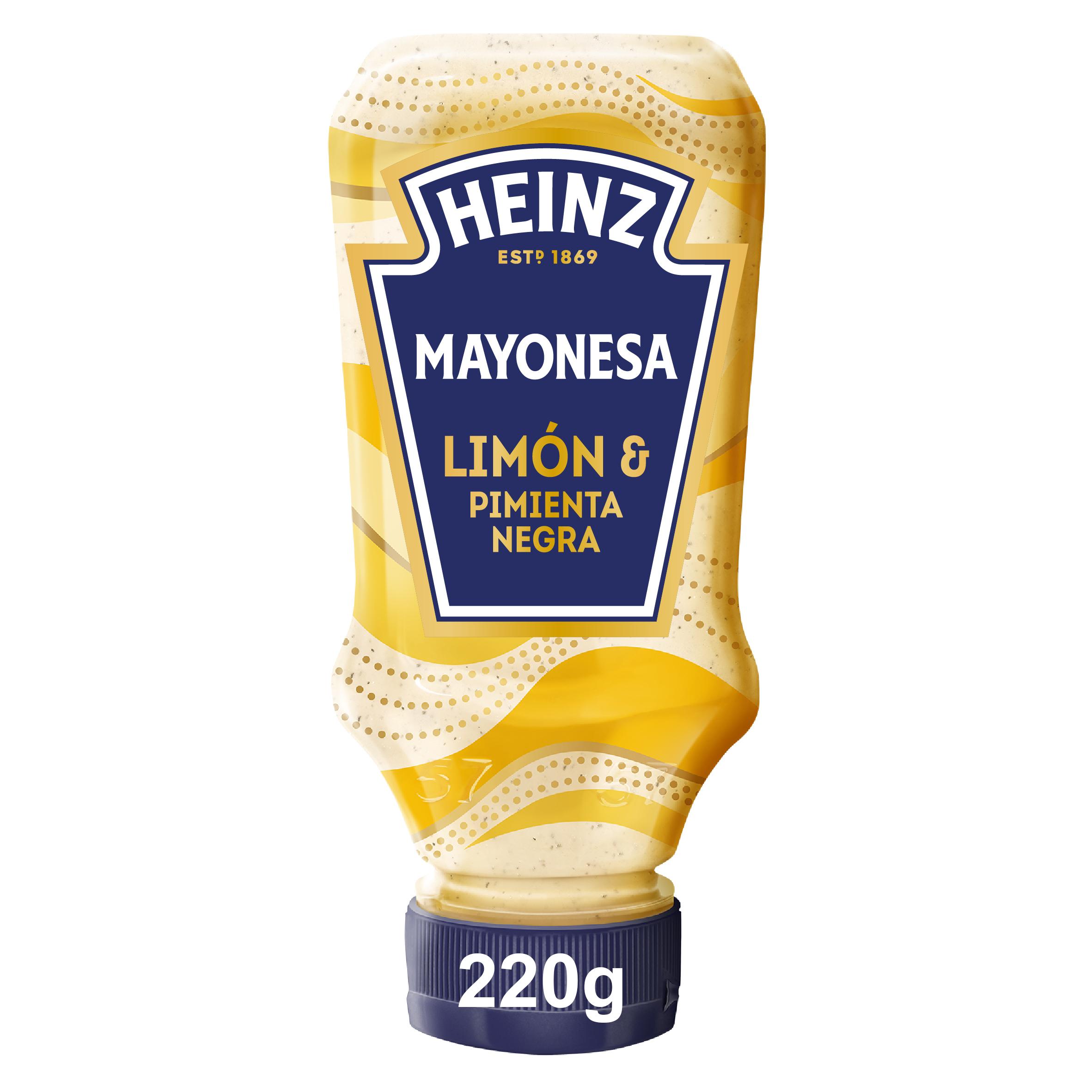 Heinz Mayonesa de Limón & Pimienta Negra 220ml image