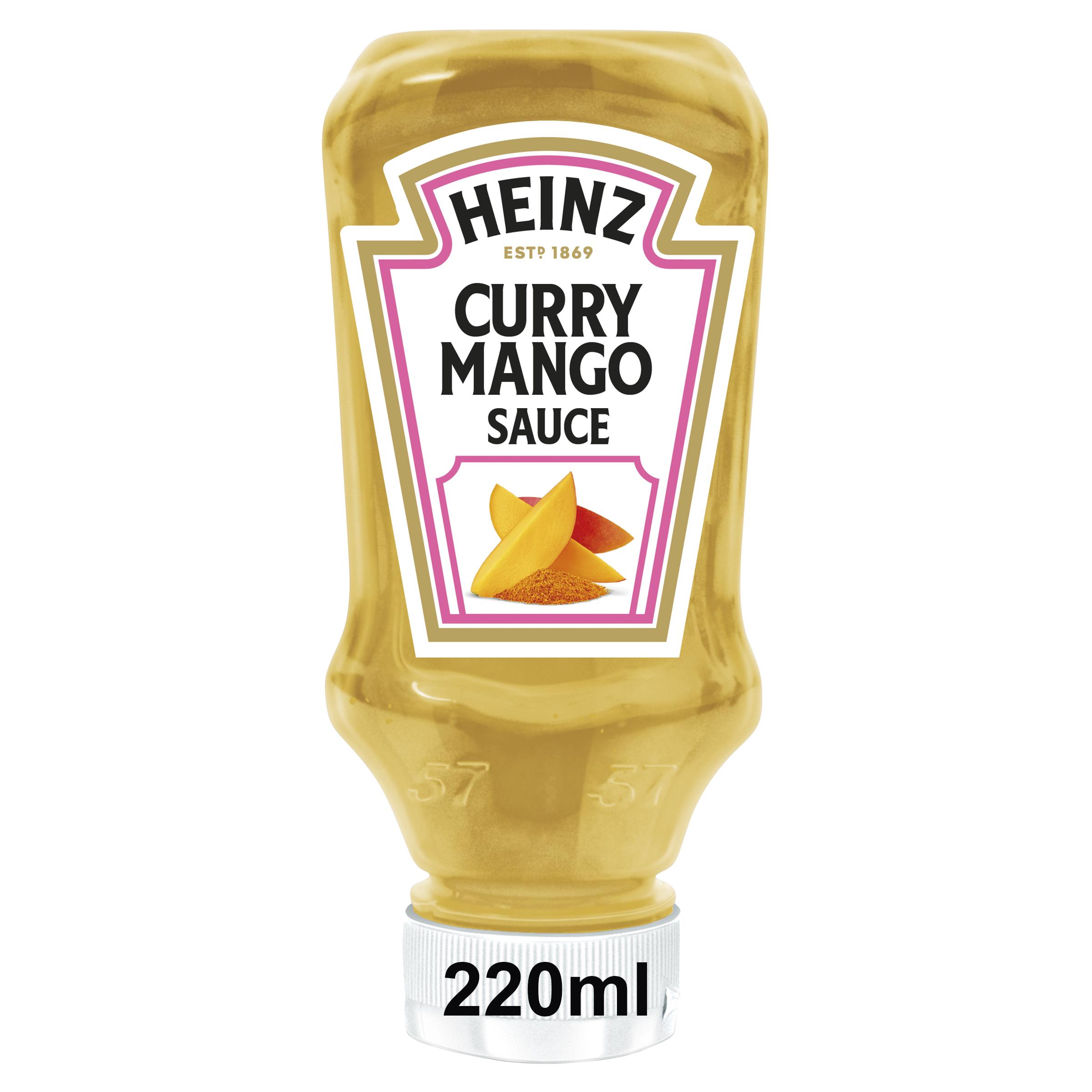 Heinz Salsa de Curry Mango 220ml image