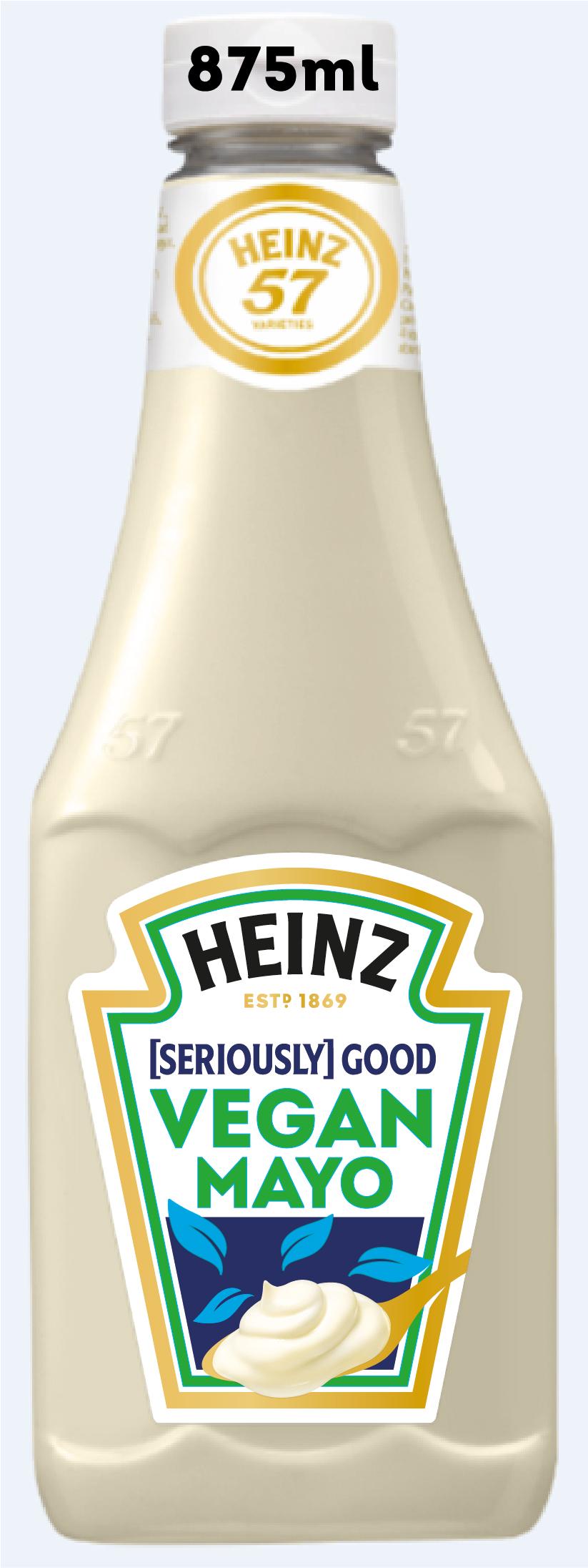 Heinz [Seriously] Good Vegan Mayo 875ml Bottom Up image
