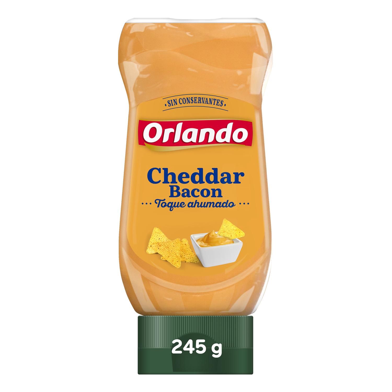 Orlando Salsa Cheddar Bacon 245g image