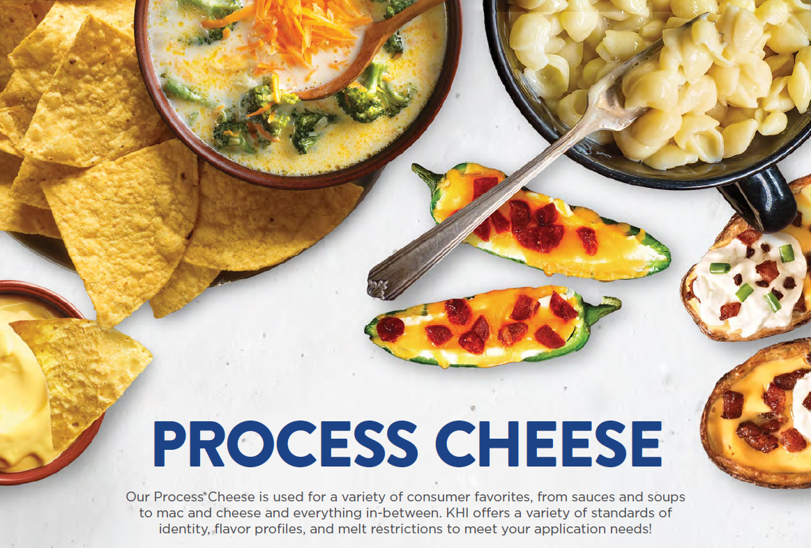 Process Cheese Sell Sheet