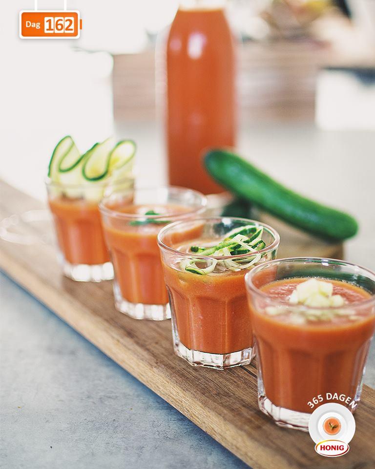 Verfrissend soepje: Gazpacho (Lunch)