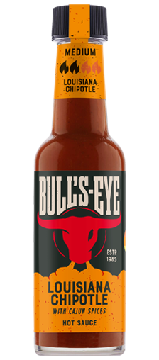 Bull's Eye Hot Sauce Louisiana Chipotle