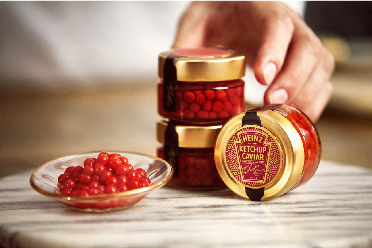 Heinz Launches Ketchup Caviar