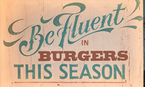 Be fluent in Burgers