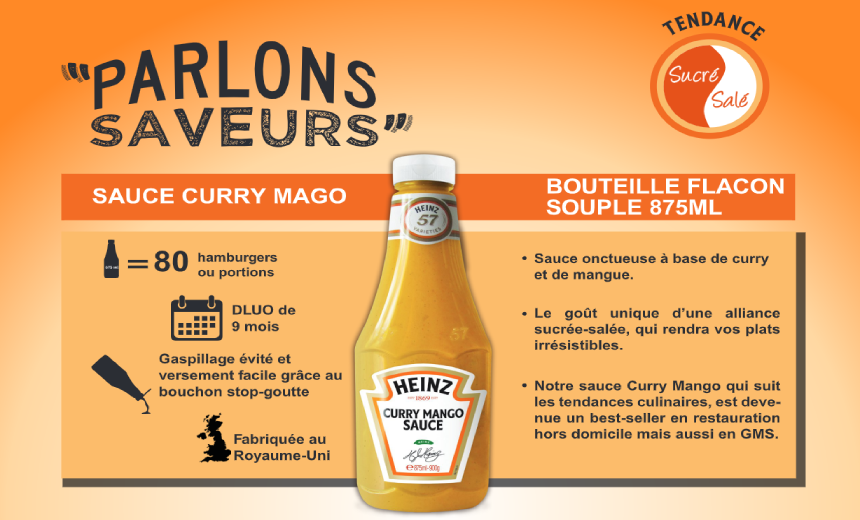 Inspiration Curry Mango Sauce