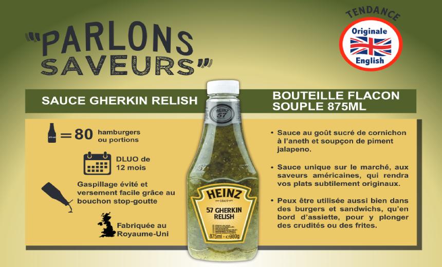Inspiration Gherkin Relish Sauce