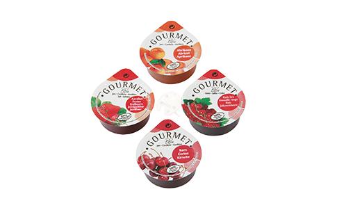Gourmet doos jam gemixt 25ml dippot image