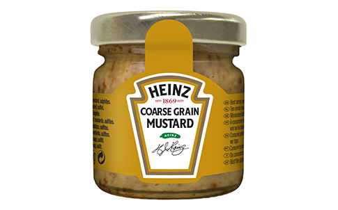 Heinz Moutarde (À L'Ancienne - Coarse Grain Mustard)33ml image