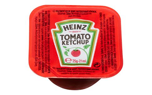Heinz Tomato Ketchup 25ml image