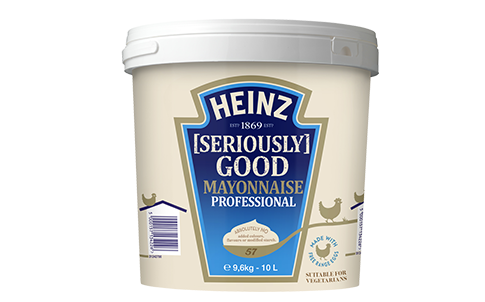 Heinz Seriously Good Mayonnaise 70% 10L image