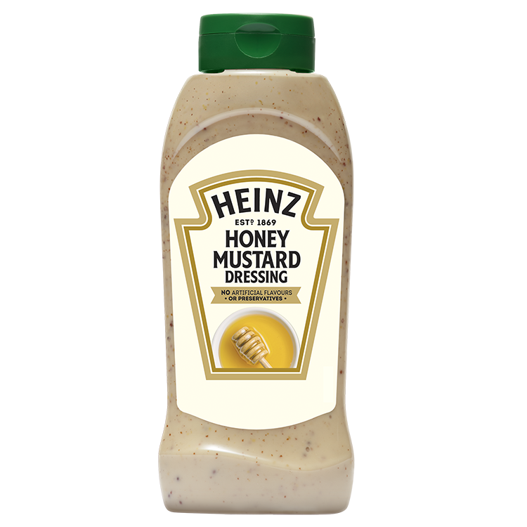 Heinz Honing Mosterd dressing 800ml fles image