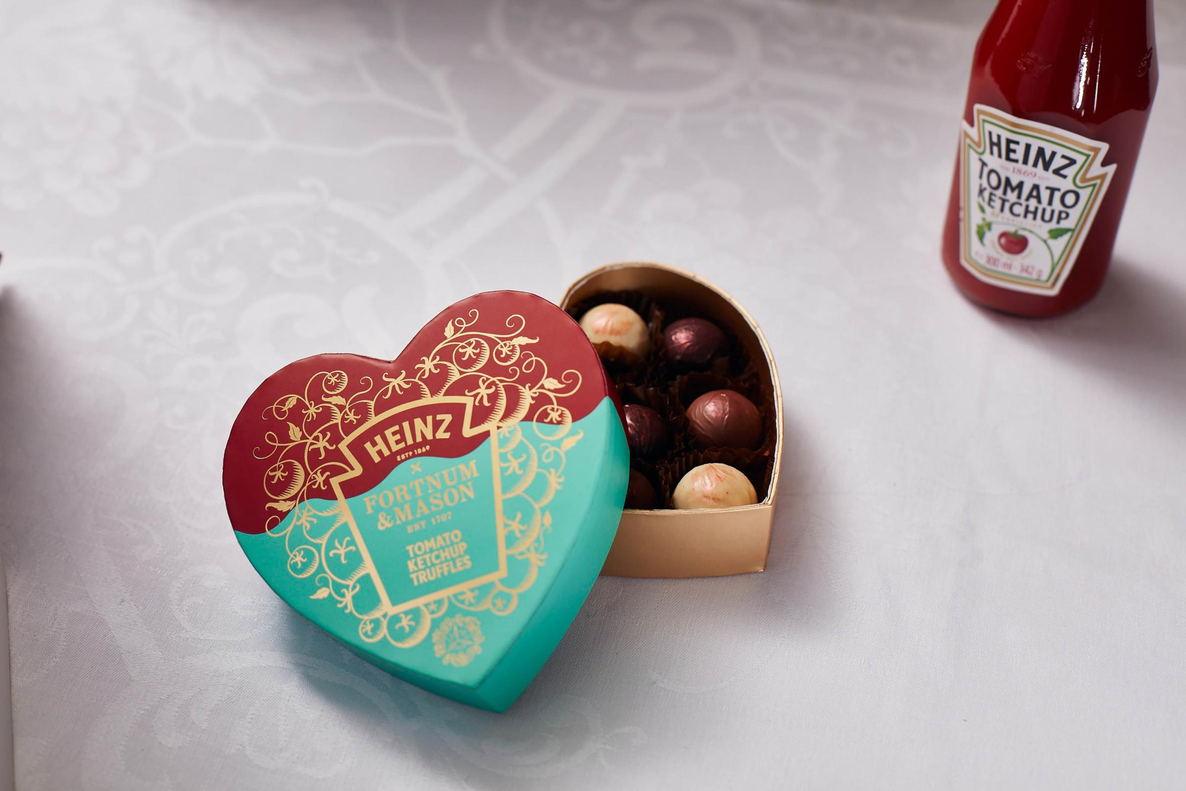Heinz Launches Ketchup Truffles