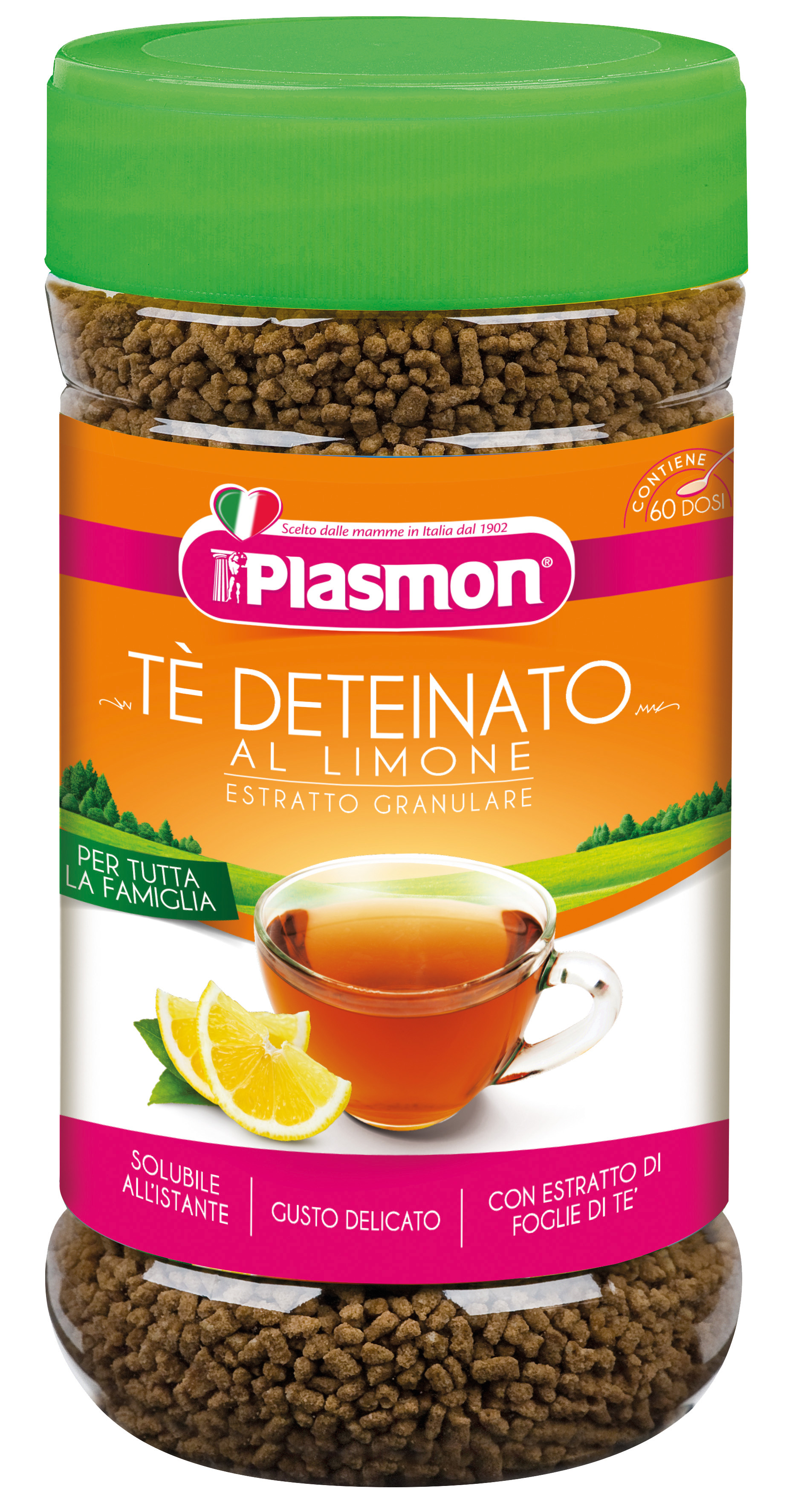 Decaffeinated Lemon tea - granular extract