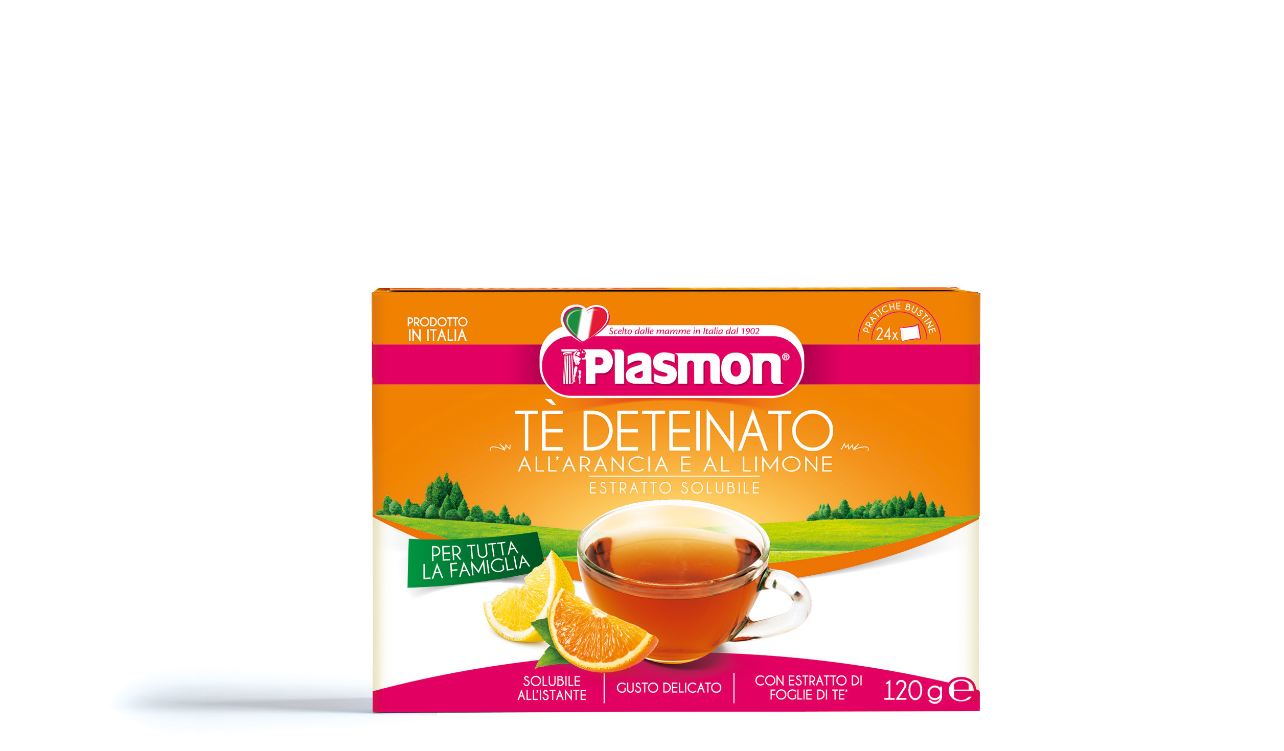Lemon and Orange tea - soluble extract