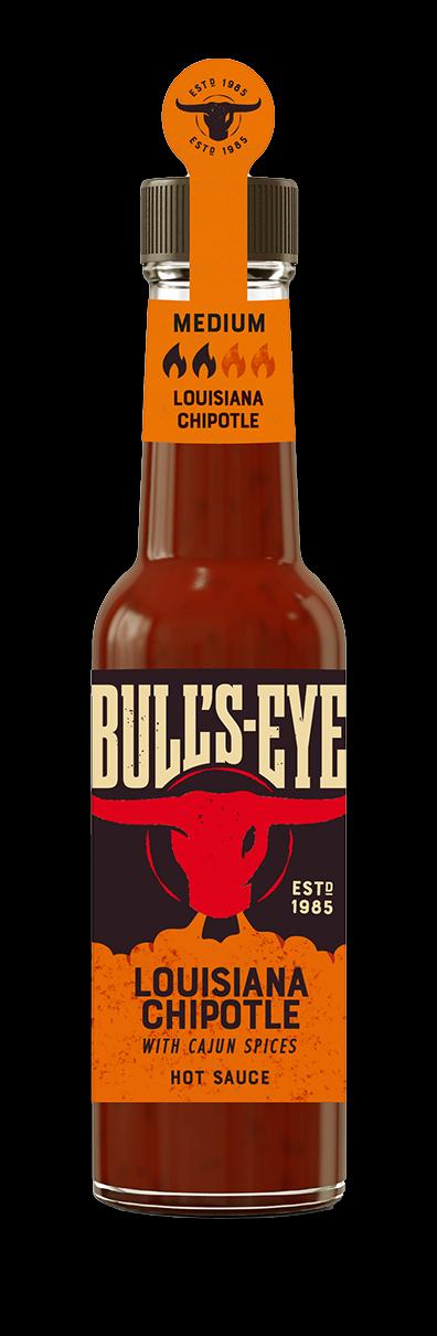 Bull's Eye Hot Sauce Lousisana Chipotle