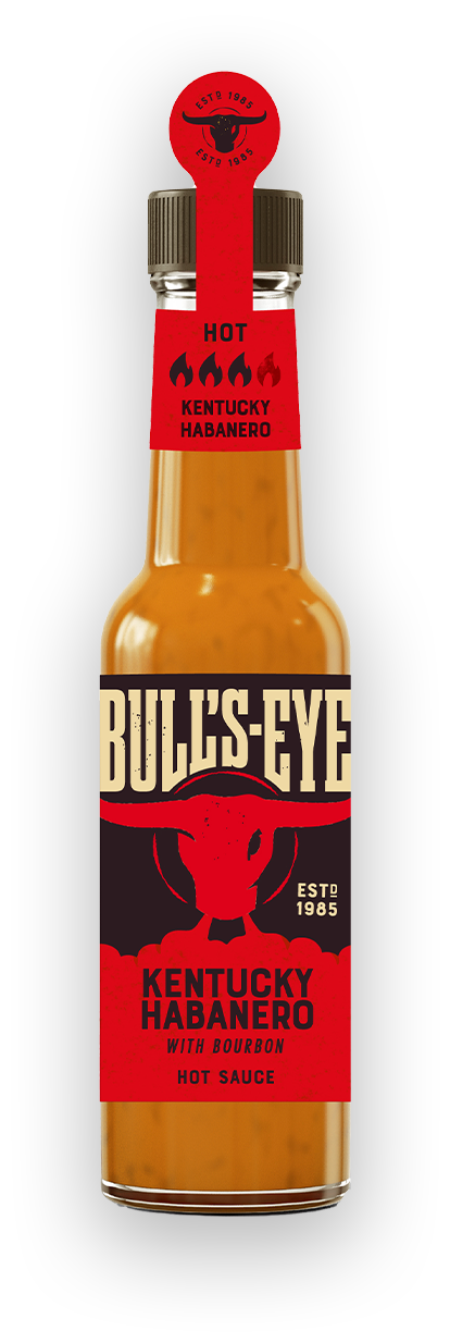 Bull's Eye Hot Sauce Kentucky Habanero